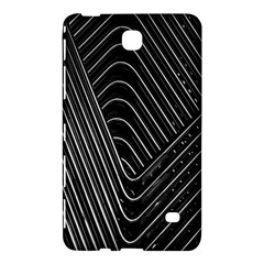 Chrome Abstract Pile Of Chrome Chairs Detail Samsung Galaxy Tab 4 (8 ) Hardshell Case