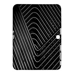 Chrome Abstract Pile Of Chrome Chairs Detail Samsung Galaxy Tab 4 (10 1 ) Hardshell Case