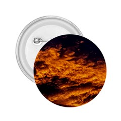 Abstract Orange Black Sunset Clouds 2.25  Buttons