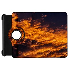 Abstract Orange Black Sunset Clouds Kindle Fire HD 7