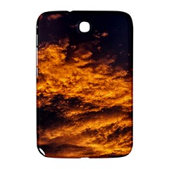 Abstract Orange Black Sunset Clouds Samsung Galaxy Note 8 0 N5100 Hardshell Case