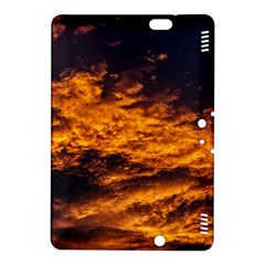Abstract Orange Black Sunset Clouds Kindle Fire HDX 8.9  Hardshell Case