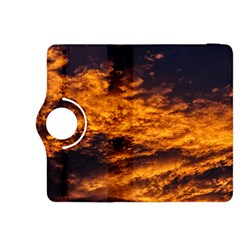 Abstract Orange Black Sunset Clouds Kindle Fire HDX 8.9  Flip 360 Case