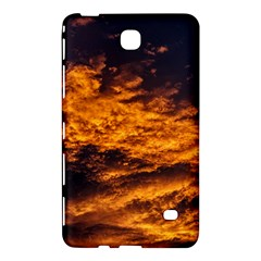 Abstract Orange Black Sunset Clouds Samsung Galaxy Tab 4 (8 ) Hardshell Case