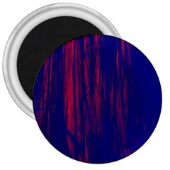 Abstract Color Red Blue 3  Magnets