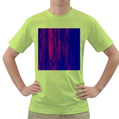 Abstract Color Red Blue Green T Shirt