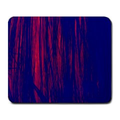 Abstract Color Red Blue Large Mousepads