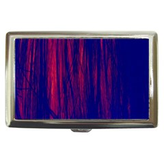 Abstract Color Red Blue Cigarette Money Cases