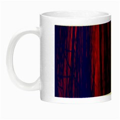 Abstract Color Red Blue Night Luminous Mugs