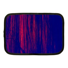 Abstract Color Red Blue Netbook Case (medium)