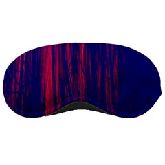 Abstract Color Red Blue Sleeping Masks