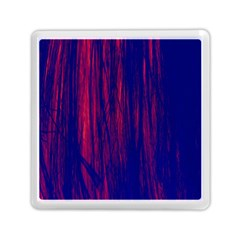 Abstract Color Red Blue Memory Card Reader (square)