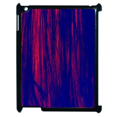 Abstract Color Red Blue Apple Ipad 2 Case (black)