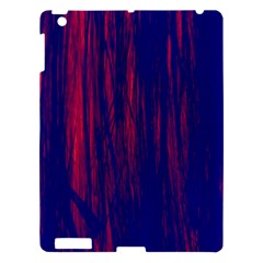 Abstract Color Red Blue Apple iPad 3/4 Hardshell Case