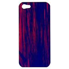 Abstract Color Red Blue Apple iPhone 5 Hardshell Case