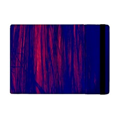 Abstract Color Red Blue Apple iPad Mini Flip Case