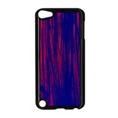 Abstract Color Red Blue Apple Ipod Touch 5 Case (black)