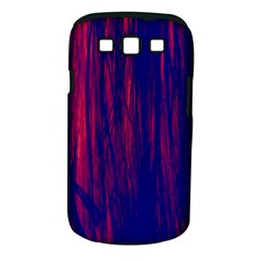 Abstract Color Red Blue Samsung Galaxy S Iii Classic Hardshell Case (pc+silicone)