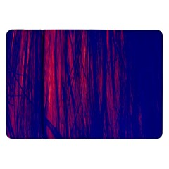 Abstract Color Red Blue Samsung Galaxy Tab 8.9  P7300 Flip Case