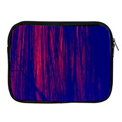 Abstract Color Red Blue Apple iPad 2/3/4 Zipper Cases