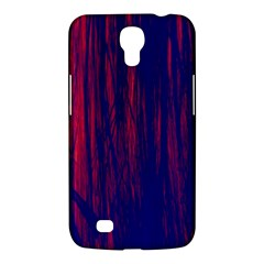 Abstract Color Red Blue Samsung Galaxy Mega 6 3  I9200 Hardshell Case