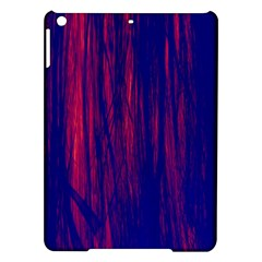 Abstract Color Red Blue iPad Air Hardshell Cases