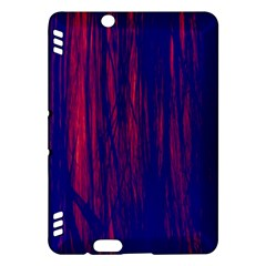 Abstract Color Red Blue Kindle Fire Hdx Hardshell Case