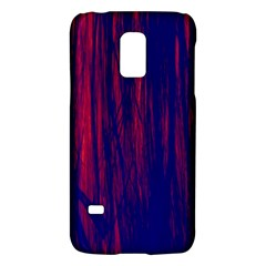 Abstract Color Red Blue Galaxy S5 Mini