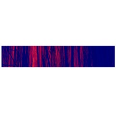 Abstract Color Red Blue Flano Scarf (large)