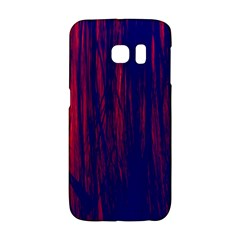 Abstract Color Red Blue Galaxy S6 Edge