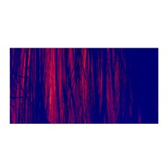 Abstract Color Red Blue Satin Wrap