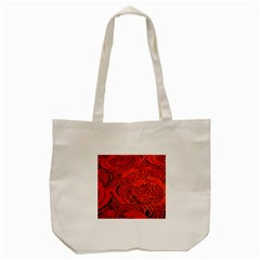 Orange Abstract Background Tote Bag (Cream)