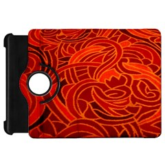 Orange Abstract Background Kindle Fire HD 7