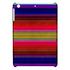 Fiesta Stripe Bright Colorful Neon Stripes Cinco De Mayo Background Apple Ipad Mini Hardshell Case