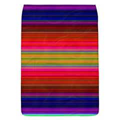 Fiesta Stripe Bright Colorful Neon Stripes Cinco De Mayo Background Flap Covers (S)
