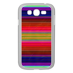 Fiesta Stripe Bright Colorful Neon Stripes Cinco De Mayo Background Samsung Galaxy Grand DUOS I9082 Case (White)