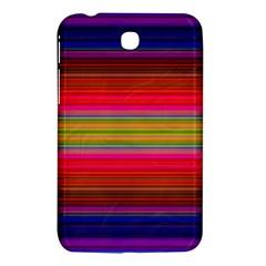 Fiesta Stripe Bright Colorful Neon Stripes Cinco De Mayo Background Samsung Galaxy Tab 3 (7 ) P3200 Hardshell Case