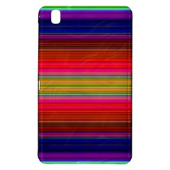 Fiesta Stripe Bright Colorful Neon Stripes Cinco De Mayo Background Samsung Galaxy Tab Pro 8.4 Hardshell Case