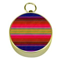 Fiesta Stripe Bright Colorful Neon Stripes Cinco De Mayo Background Gold Compasses