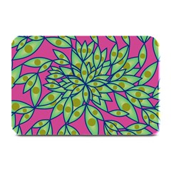 Big Growth Abstract Floral Texture Plate Mats
