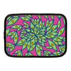 Big Growth Abstract Floral Texture Netbook Case (medium)
