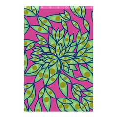 Big Growth Abstract Floral Texture Shower Curtain 48  X 72  (small)