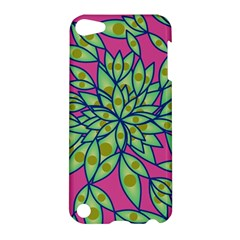 Big Growth Abstract Floral Texture Apple iPod Touch 5 Hardshell Case