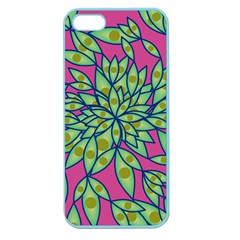 Big Growth Abstract Floral Texture Apple Seamless iPhone 5 Case (Color)