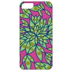 Big Growth Abstract Floral Texture Apple Iphone 5 Classic Hardshell Case