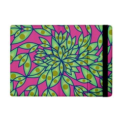 Big Growth Abstract Floral Texture Apple Ipad Mini Flip Case