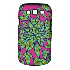 Big Growth Abstract Floral Texture Samsung Galaxy S III Classic Hardshell Case (PC+Silicone)