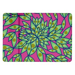 Big Growth Abstract Floral Texture Samsung Galaxy Tab 10.1  P7500 Flip Case