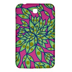 Big Growth Abstract Floral Texture Samsung Galaxy Tab 3 (7 ) P3200 Hardshell Case