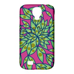 Big Growth Abstract Floral Texture Samsung Galaxy S4 Classic Hardshell Case (PC+Silicone)